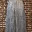 ชุดเดรสแฟชั่น พร้อมส่งNancy Luxury Grey Silver Dress thumbnail 10