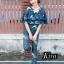เสื้อผ้าแฟชั่นเกาหลีพร้อมส่ง Jumpsuit สวยลงตัวในชุดเดียว thumbnail 5