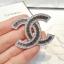 พร้อมส่ง Diamond Chanel Brooch เข็มกลัดชาแนล มีปั้ม Logo thumbnail 4