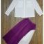 เสื้อผ้าเกาหลี พร้อมส่งเซ็ทเสื้อ+กระโปรง เวลาเดินกระโปรงพริ้วไสว thumbnail 7