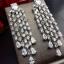 พร้อมส่ง Diamond Earring ต่างหูเพชร CZ แท้ งานเกรดตู้เพชร thumbnail 4
