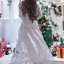 ชุดเดรสเกาหลี พร้อมส่งMiss Grey Princess Stylish Luxury Long Dress thumbnail 4