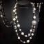 พร้อมส่ง Chanel Necklace เกรดซุปเปร์ไฮเอนคะงานมุก 2 ชั้น thumbnail 1
