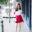 เสื้อผ้าเกาหลีพร้อมส่ง ขาวแดงงานดีก็มาคร้าาาาาา เหมือนเด็กญี่ปุ่นจริงงๆ thumbnail 8