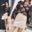 เสื้อผ้าเกาหลีพร้อมส่ง กระโปรงผ้าทอทวิส สไตส์ Chanel thumbnail 1