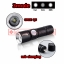 Flashlights Mini ไฟฉายสว่างมาก CREE LED Q5 800mah usb charge 3mode thumbnail 1