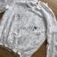 เสื้อผ้าเกาหลีพร้อมส่ง เสื้อผ้าลูกไม้แขนยาวสีขาวสไตล์คลาสสิกวินเทจ thumbnail 5