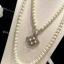พร้อมส่ง สร้อยคอ Chanel งานมุกสีขาวนวล ดูหรูหรา มีระดับ thumbnail 5