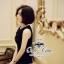 ( พร้อมส่งเสื้อผ้าเกาหลี) เดรสสีดำลุคเรียบหรู กิมมิคของชุดอยู่ที่ช่วงอกค่ะ ตกแต่งโบว์ เนื้อผ้าเรียบสวย thumbnail 11