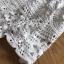 ชุดเดรสเกาหลีพร้อมส่ง เดรสชีฟองสีขาวทรงระบายเลเยอร์กระโปรงผ้าลูกไม้ thumbnail 13