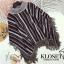 เสื้อผ้าแฟชั่นเกาหลีพร้อมส่ง เสื้อไหมพรมงาน Knit สวยมากๆเลยคะ thumbnail 4