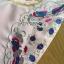 ชุดเดรสเกาหลี พร้อมส่งเดรสสีชมพูปักลายดอกไม้กระโปรงระบาย thumbnail 13