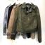 เสื้อผ้าเกาหลีพร้อมส่ง Zipper Suede Leather Biker Jacket thumbnail 6