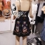 ชุดเดรสเกาหลี พร้อมส่ง Mini Dress ลุคนี้ให้สไตล์คุณหนูแสนซน แอบเปรี้ยวเล็กน้อย thumbnail 10