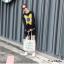 เสื้อผ้าเกาหลีพร้อมส่ง เสื้อไหมพรม Stlye Korea ผ้าไหมพรมทอเนื้อแน่น thumbnail 4