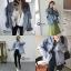 เสื้อผ้าเกาหลีพร้อมส่ง Jacket jean รุ่นขาดศอก ขาดแบบเกร๋ๆ thumbnail 13