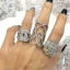 พร้อมส่ง แหวนปลอกชาแนล เพชรฉลุรอบ เพชรczเกรด8A แท้ thumbnail 3