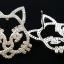พร้อมส่ง diamond Chanel brooch &Earring เข็มกลัด/ต่างหู ชาแนล thumbnail 4