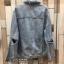 เสื้อผ้าเกาหลีพร้อมส่ง Jacket jean รุ่นขาดศอก ขาดแบบเกร๋ๆ thumbnail 15