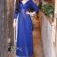 ชุดเดรสเกาหลี พร้อมส่งlong dress คอวี แขนยาวปักเลื่อมทั้งตัว thumbnail 9