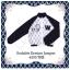 ( พร้อมส่งเสื้อผ้าเกาหลี) เสื้อคลุมซิปหน้า พิมพ์ลายคมชัด ใส่คู่กางเกง Kyonite Short แต่งกระดุมปั๊ม น่ารักมากๆ งานติดป้าย NOKARA thumbnail 3