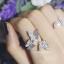 พร้อมส่ง Butterfly Diamond Ring งานเพชร CZ แท้ thumbnail 1