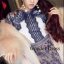 ชุดเดรสเกาหลี พร้อมส่ง เดรสลูกไม้สุดอลังการ งานสวยหรู thumbnail 2
