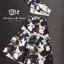 เสื้อผ้าเกาหลีพร้อมส่ง Set เซ้ทเสื้อและกางเกง เนื้อผ้าพิมพ์ลายทั้งตัว thumbnail 8