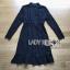 เสื้อผ้าเกาหลี พร้อมส่งเชิ้ตเดรสผ้าลูกไม้สไตล์คลาสสิก thumbnail 18