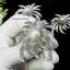 พร้อมส่ง Diamond Brooch เข็มกลัดงานเพชร CZ แท้ thumbnail 1