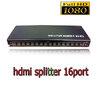 HDMI splitter เข้า1ออก16จอ FULL HD 3D เวอร์ชั่น1.4 -black