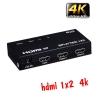 HDMI splitter 1x2 4kx2k FULL HD 3D 2160P