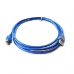 usb ต่อยาว Extention cable AM AF 1.8m v2.0- blue