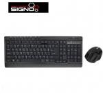 Signo wireless keyboard+mouse kw750+wm105
