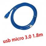 สาย USB 3.0 AM/Micro V 3.0 High Speed 1.8m