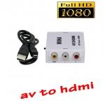 ตัวแปลงสัญญาณ AV rca video to hdmi converter