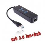 สายแปลงusb lan 3.0 to RJ45 Gigabit Ethernet มีhub usb ด้วย