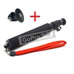 Gopro ไม้ถ่ายรูปใช้กับกล้อง+ตัวแปลง ขาตั้งกล้อง ยาว50cm -black