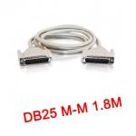 สายParallel Cable DB25 Male to Male 1.8m