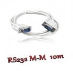 สายserial RS232 comport DB9 Male Male 10m -white
