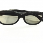 แว่นสามมิติ 3D CLASS สีเทา ใช้กับTV 3D -black