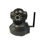IP WIFI camerกล้อง CCTV เสียบ MICRO SDได้ -black