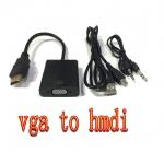 สายแปลงสัญญาณ VGA TO HDMI มีเสียงด้วย