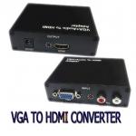 ตัวแปลงVGA TO HDMI CONVERTER with audio มีเสียงด้วย
