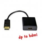 สายแปลง display port ออก HDMI สายยาว20cm ใช้ได้ 100 %