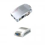 PC TO TV VGA TO RCA CONVERTER -Silver