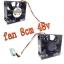 Fan Cooling 8cm AVC data0838B8u-PWM 4pin thumbnail 1