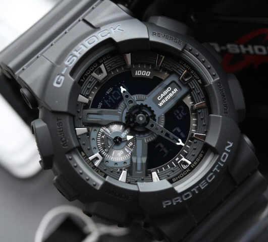 GShock G-Shockของแท้ ประกันศูนย์ GA-110-1BDR 197b99bab