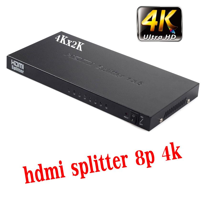 hdmi splitter 4Kx2K 1x8จอ full hd 3D 2160p