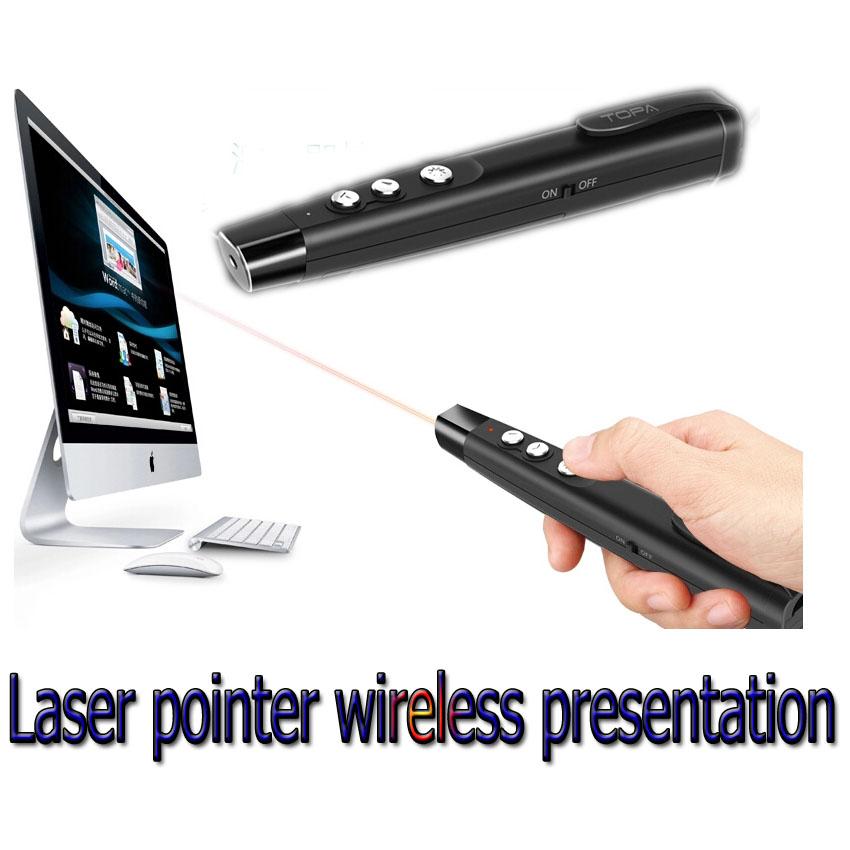 Laser pointer wireless presentation TOPA A100